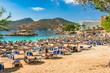 Sommer Urlaub Spanien Mittelmeer Mallorca Strand in Camp de Mar