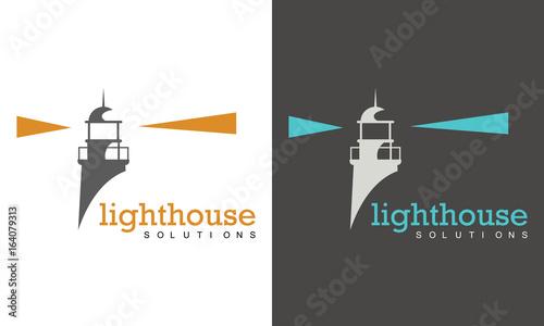 Photo lighthouse logo