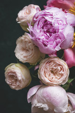 Peonies And Bombastic Roses Bo...