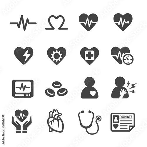 Photo heart,health care icon