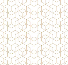 Seamless Geometric Line Grid V...