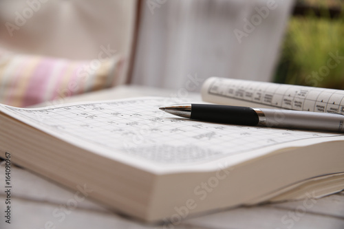 Stampe  Rätsel Worte Kreuzworträtsel