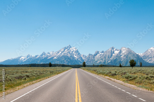 Obraz na płótnie Grand Teton National Park, Wyoming, United States