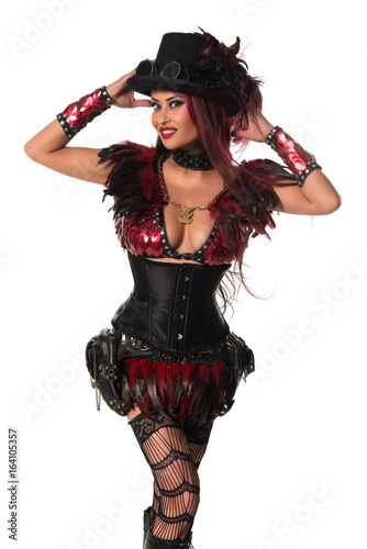 Fotografie, Obraz  Redhead at cosplay