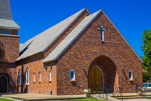 Entrance To Brick Church