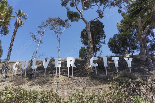 Plakat Culver City Sign Los Angeles