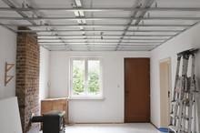 Installation De Faux Plafond Structure Metal Stud