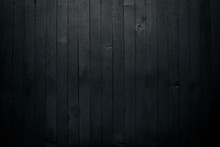 Wooden Black Texture Surface. ...