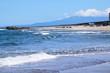 山形県庄内浜の荒波