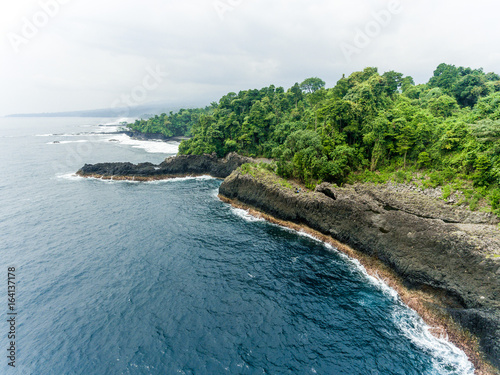 Fotomural  Aerial Photography of Beaches in Equatorial Guinea