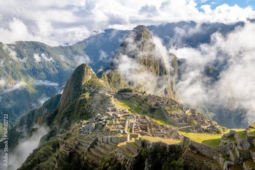 Machu Picchu Inca Ruins - Sacred Valley, Peru Canvas Print