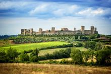 MONTERIGGIONI, SIENA - View Of...