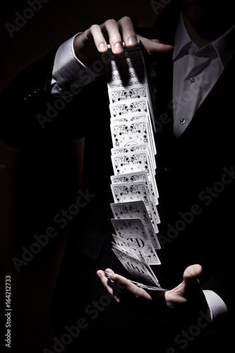 Tableau sur Toile Kartenspiel