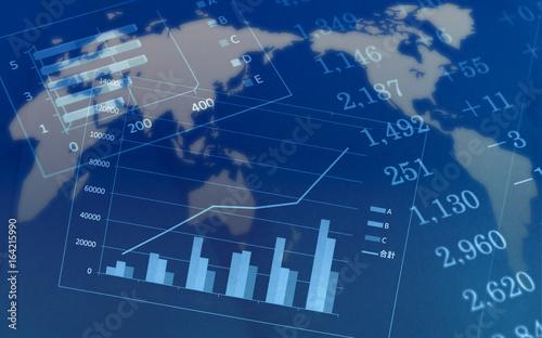 Fototapeta ビジネスイメージ 世界経済 obraz