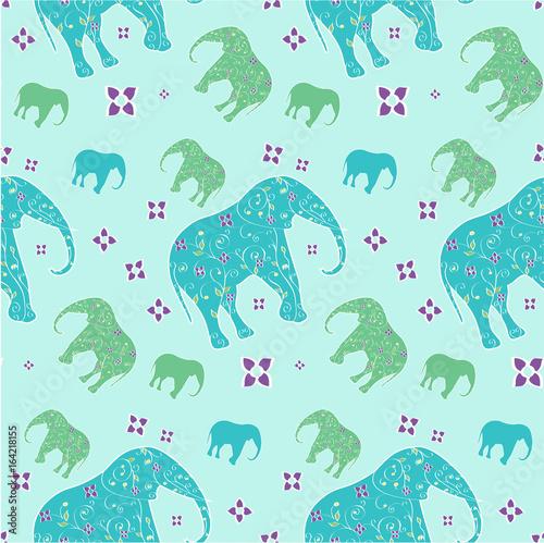 slon-bez-szwu-wektor-ilustracja