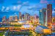 canvas print picture - Miami, Florida, USA