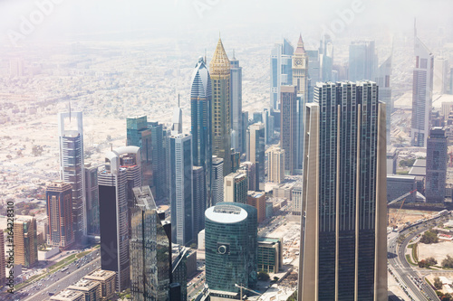 Photo  Skyscrapers In Dubai, UAE