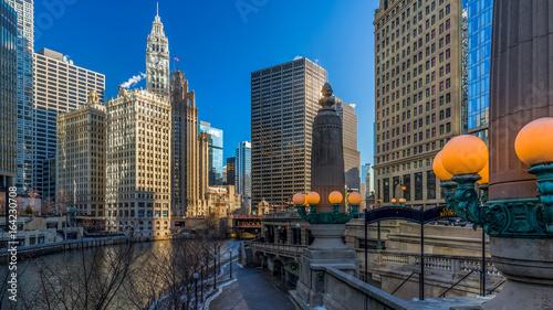 Fotografia Chicago Riverside