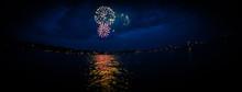 Fireworks Over Leech Lake