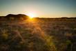Sunset over West Texas, near Garner State Park