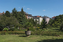 The Bethmannpark In Frankfurt ...