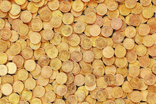 Background Made Of Polish Coins.