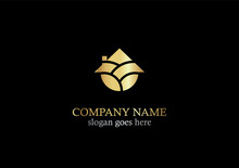 Gold Home Realty Icon Logo