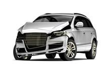 Car Accident / 3D Render Image...