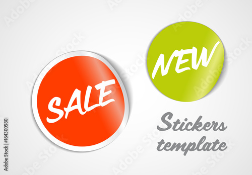 round sticker layout 1 buy this stock template and explore similar