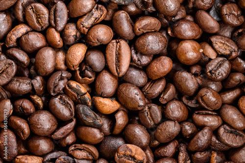 Detail of coffee bean