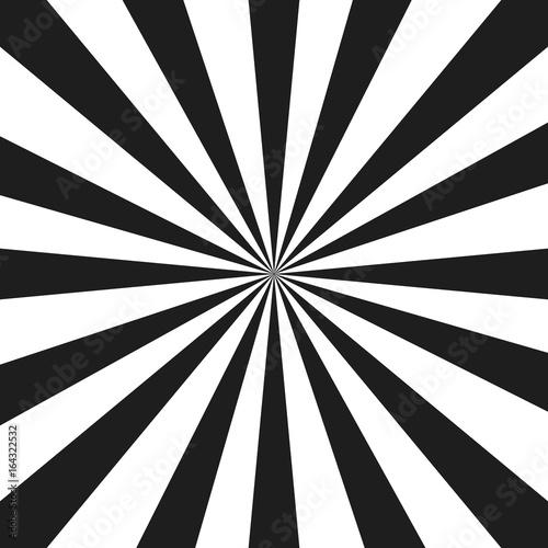 Plakat Abstrakcjonistyczna monochromatyczna promienia wektoru ilustracja