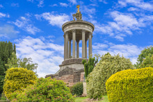 Burns Monument Ayr. On  A Summers Day