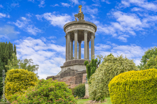 Photo Burns Monument Ayr. on  a summers day