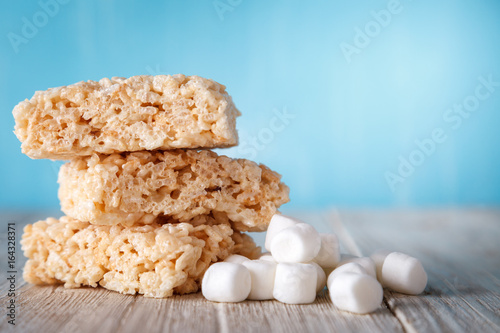 Rice Crispy Treat With Marshmallows