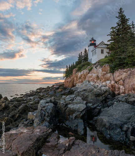Photo Stands United States Bass Harbor Light