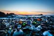 Leinwanddruck Bild - Glass beach