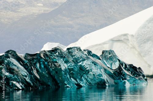 Photo  Black Ice - Scoresby Sound - Greenland
