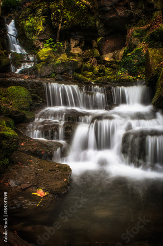 Photographie  Lumsdale Falls Matlock Waterfall