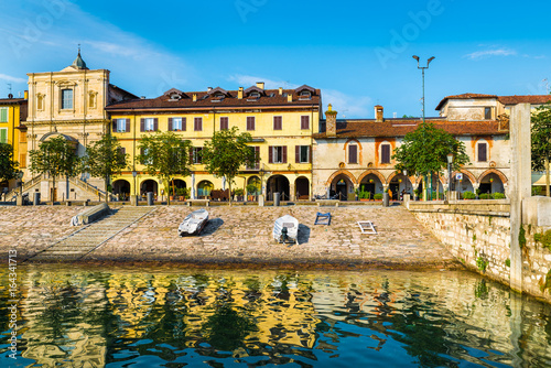 Lake Maggiore, Arona, historic center, Italy Wallpaper Mural