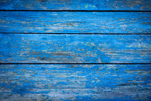 Wooden Color Background.  Blue. Horizontal.