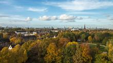 Hamburg Panorama Von Hamburg-Wilhelmsburg