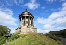 Robert Burns Monument On Regen...