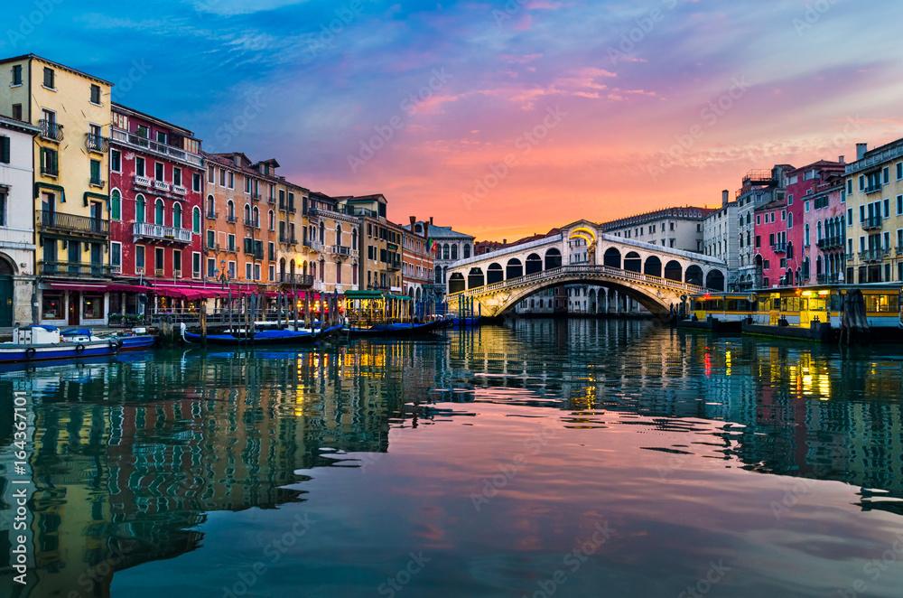 Fototapety, obrazy: Sunrise in Venice, Italy