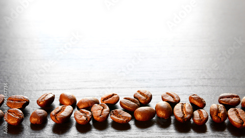 Foto op Canvas Koffiebonen Coffee