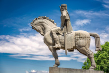 Statue Of King Vakhtang Gorgas...