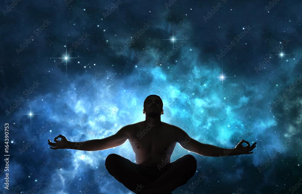 Fototapety, obrazy: Man in meditation