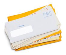 Envelope Mail Pile