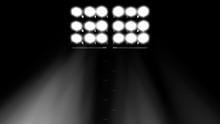 Stadium Flood Lights Turned On...