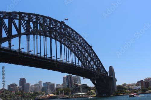 Deurstickers Australië The Sydney Harbour Bridge