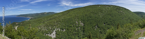 Slika na platnu Cape Breton Island/Cabot Trail Panoramic